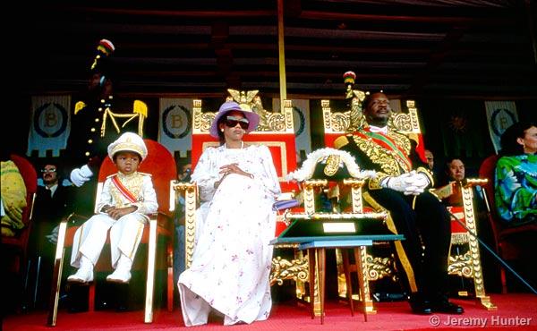 Jeremy Hunter - Coronation of Emperor Jean-Bedel Bokassa ...